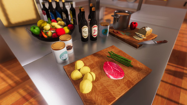 Cooking Simulator cena